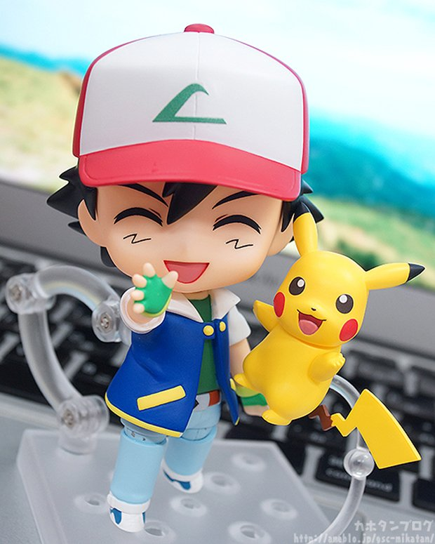 Nendoroid Ash Ketchum & Pikachu