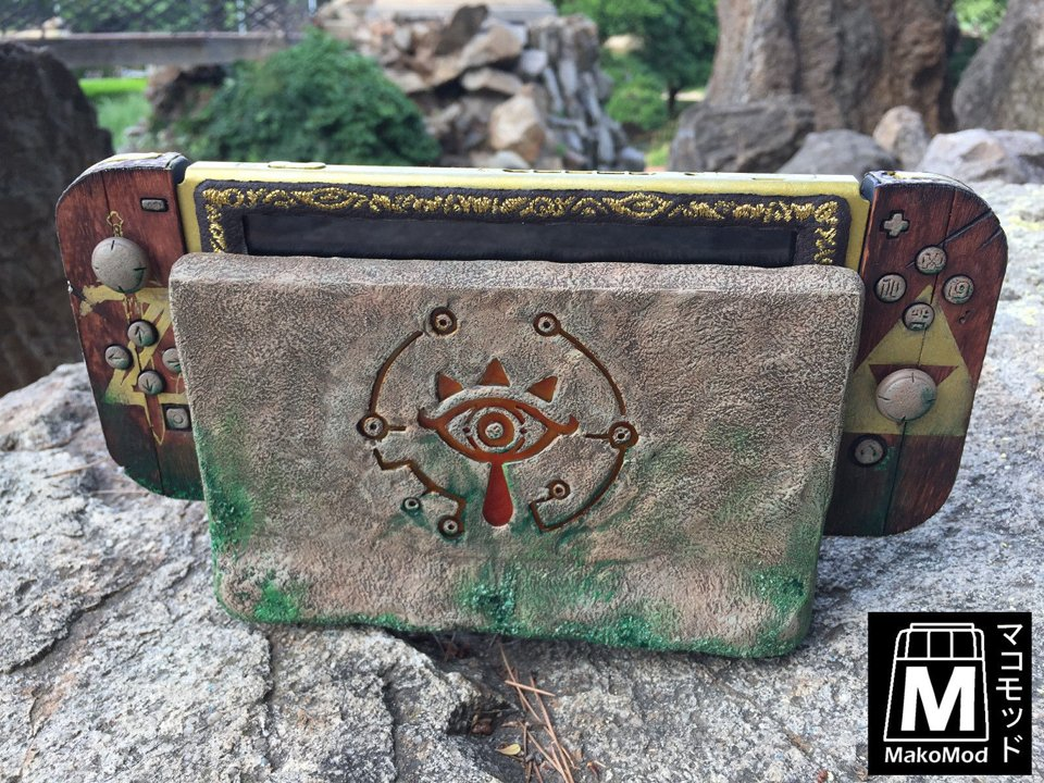 Custom Sheikah Slate Switch