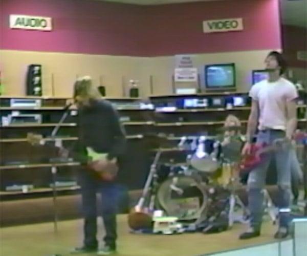 Nirvana Plays RadioShack