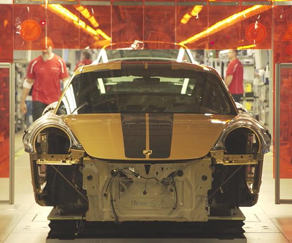 Porsche 911 Factory Video