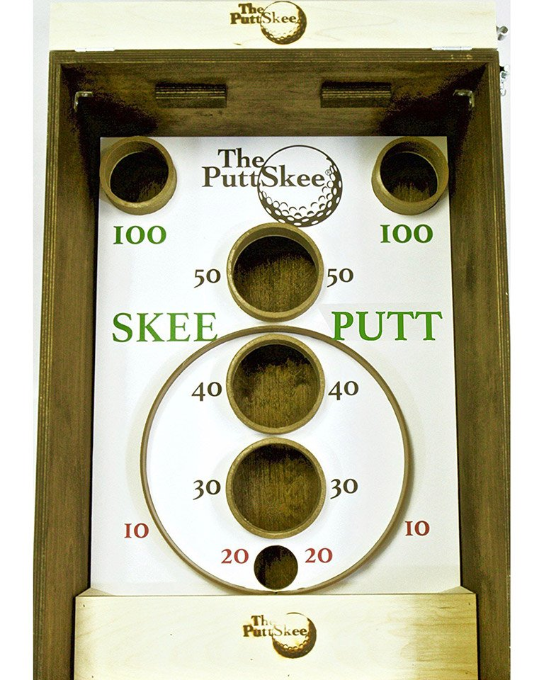 Puttskee Golf Skee Ball