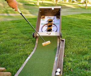 Puttskee Golf Skee-Ball