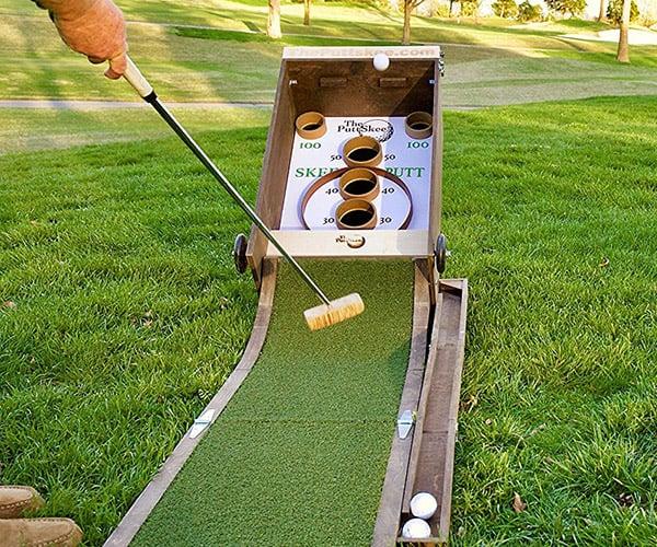 Puttskee Golf Skee-Ball