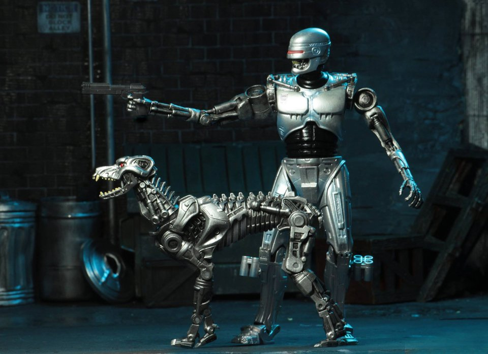 RoboCop vs. Terminator Action Figures