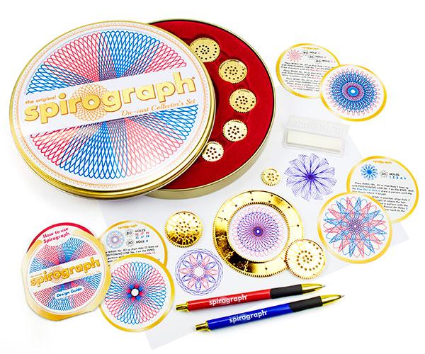 Die-Cast Spirograph Set