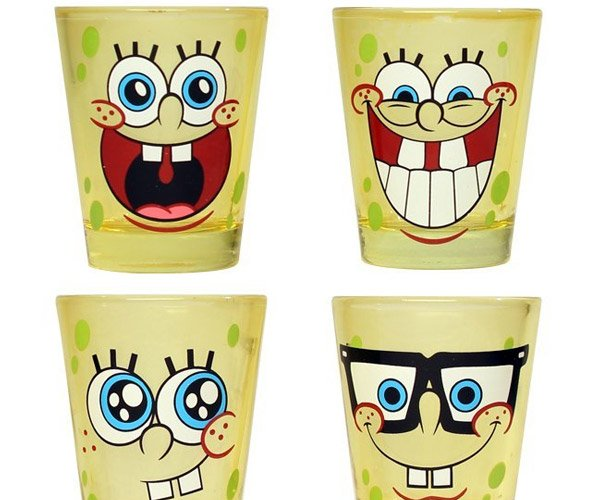 Spongebob Shot Glasses
