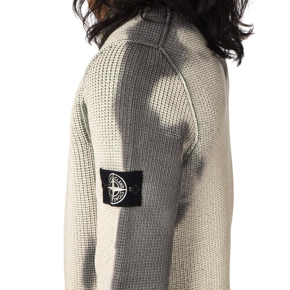 This Stone Island Knit Sweater Changes Colors When Exposed To The Cold