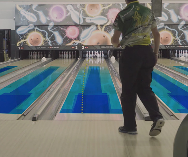 The Oil Patterns in Bowling Lanes
