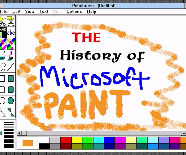 A History of MS Paint