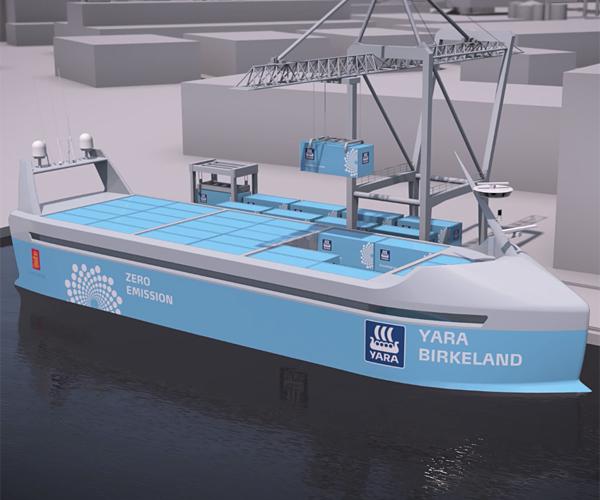 Autonomous Cargo Ship