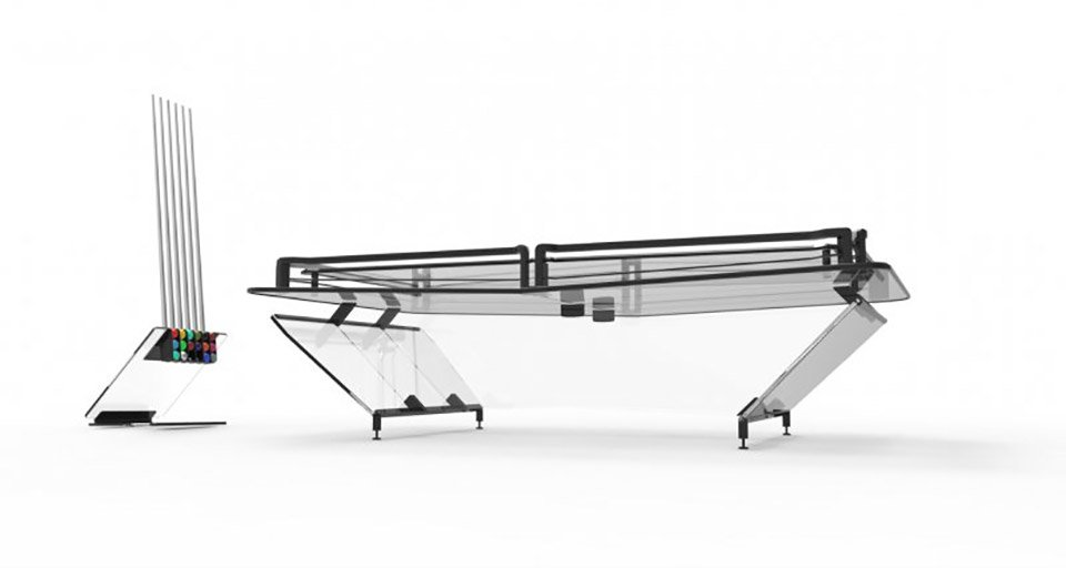 X1 Everest Pool Table