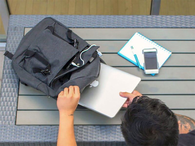Deal: 1Voice Charging Backpack