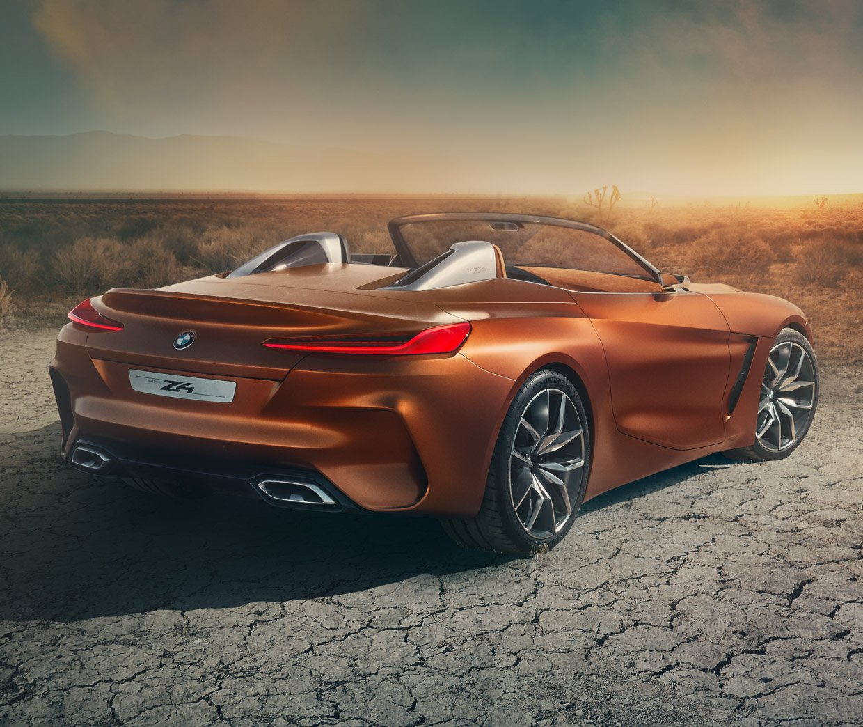 2019 Bmw Z4: BMW Z4 Concept Is Stunningly Gorgeous