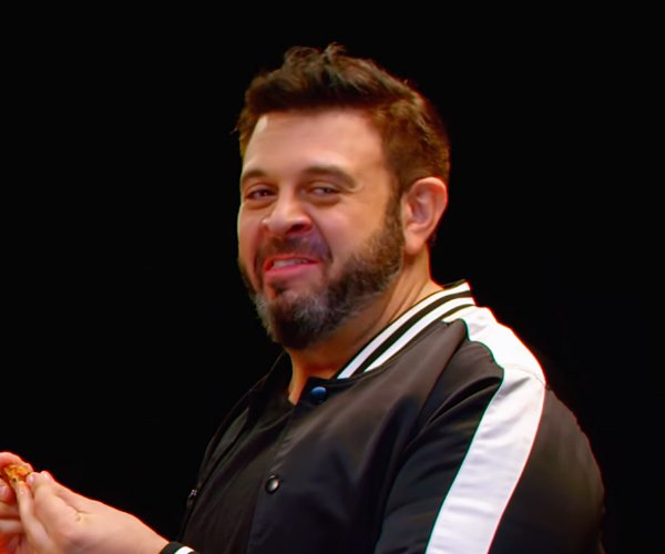 Adam Richman vs. Hot Wings