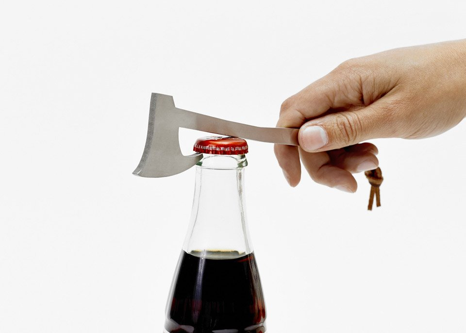 Areaware Bottle Axe Bottle Openers