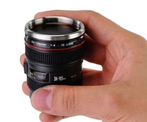 Camera Lens Shot Glasses