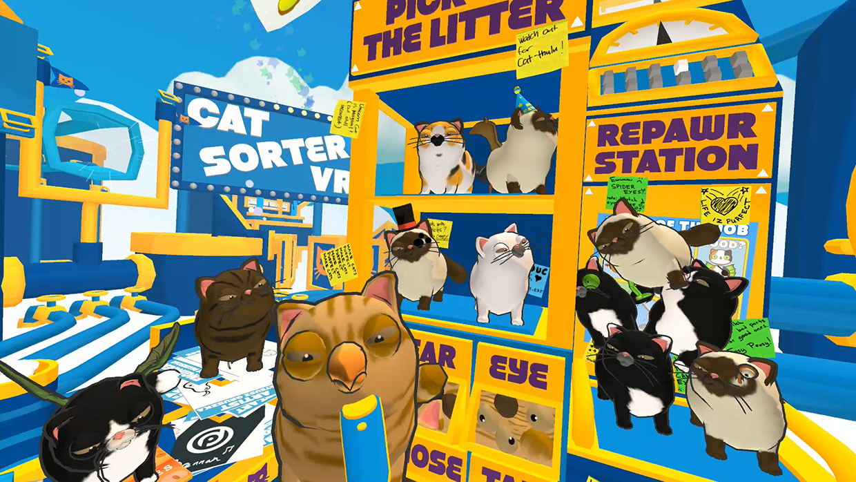 Cat Sorter VR (Teaser)