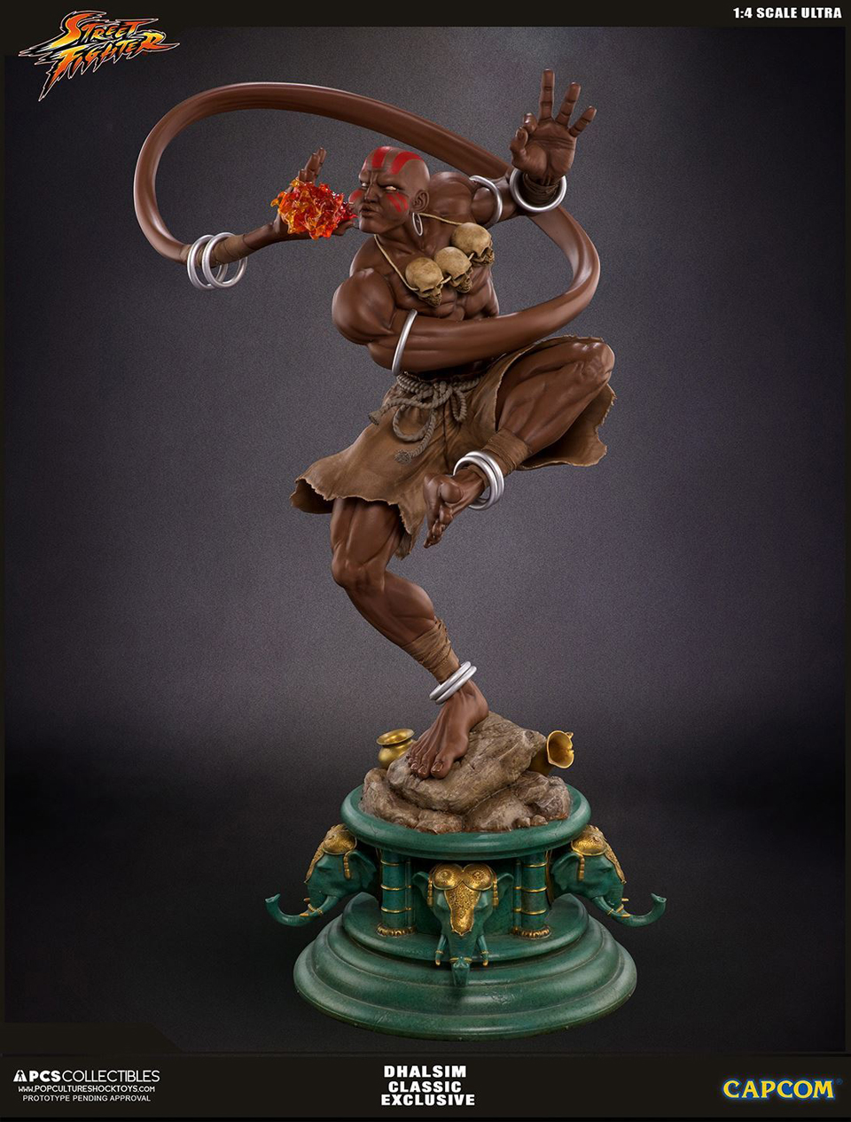 Street Fighter Dhalsim 1:4 Ultra Statue