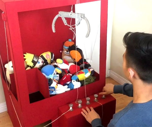 DIY Cardboard Claw Machine