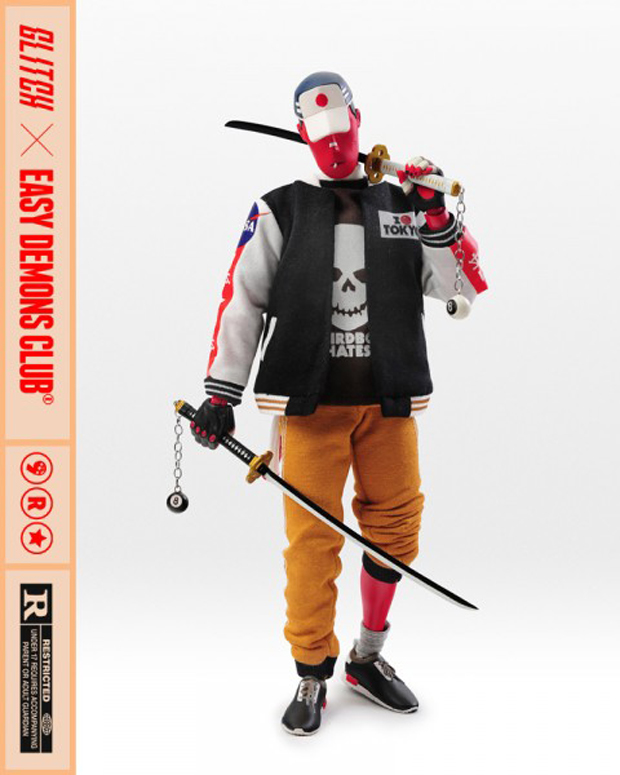 EDC Hannya Boy Action Figure