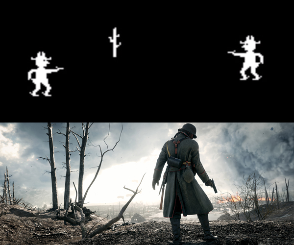 Evolution of Game Graphics