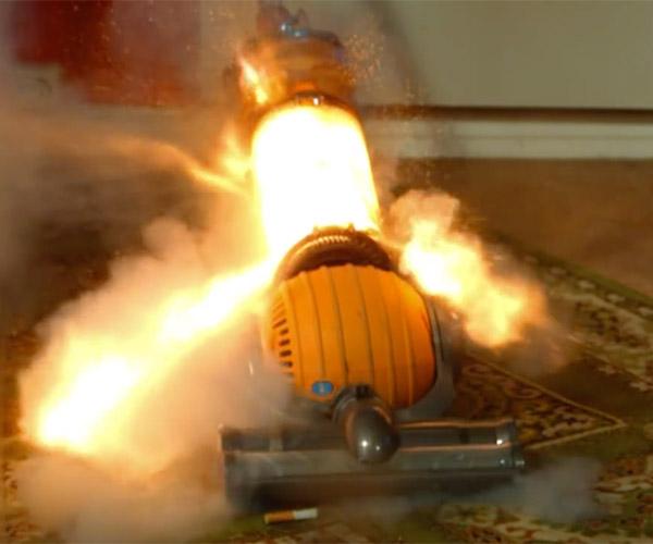 Exploding Vacuum Cleaner