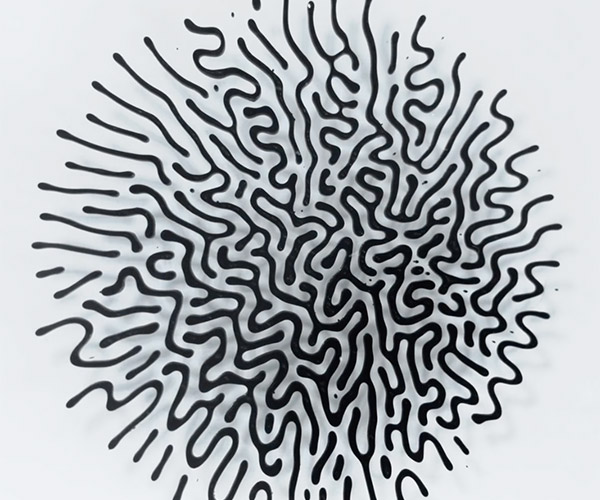 Cool Ferrofluid Patterns