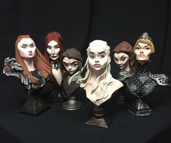 Game of Thrones Character Busts
