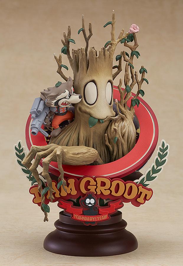 Groot Manga Variant Statue