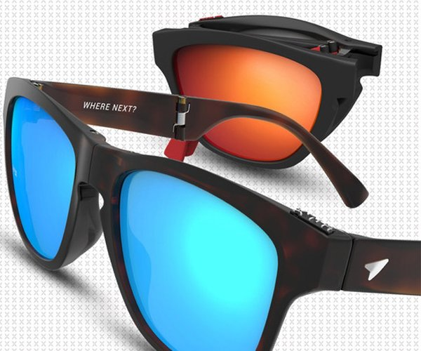 Hilx Unfold Folding Sunglasses