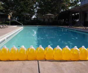 How to Measure Swimming Pool Pee
