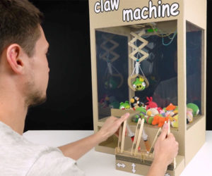 Hydraulic Cardboard Claw Machine