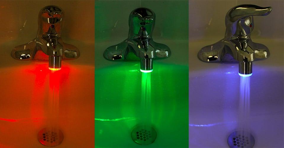 Deal: IllumiSink Faucet Light