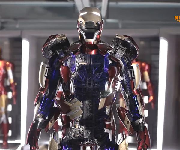 Iron Man Mk. 43 1:1 Motorized Statue