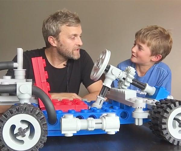Jumbo LEGO Go-Kart
