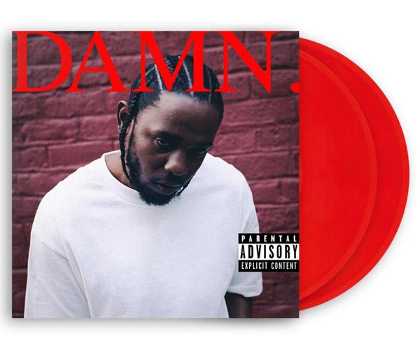 Kendrick Lamar DAMN. Red 2XLP