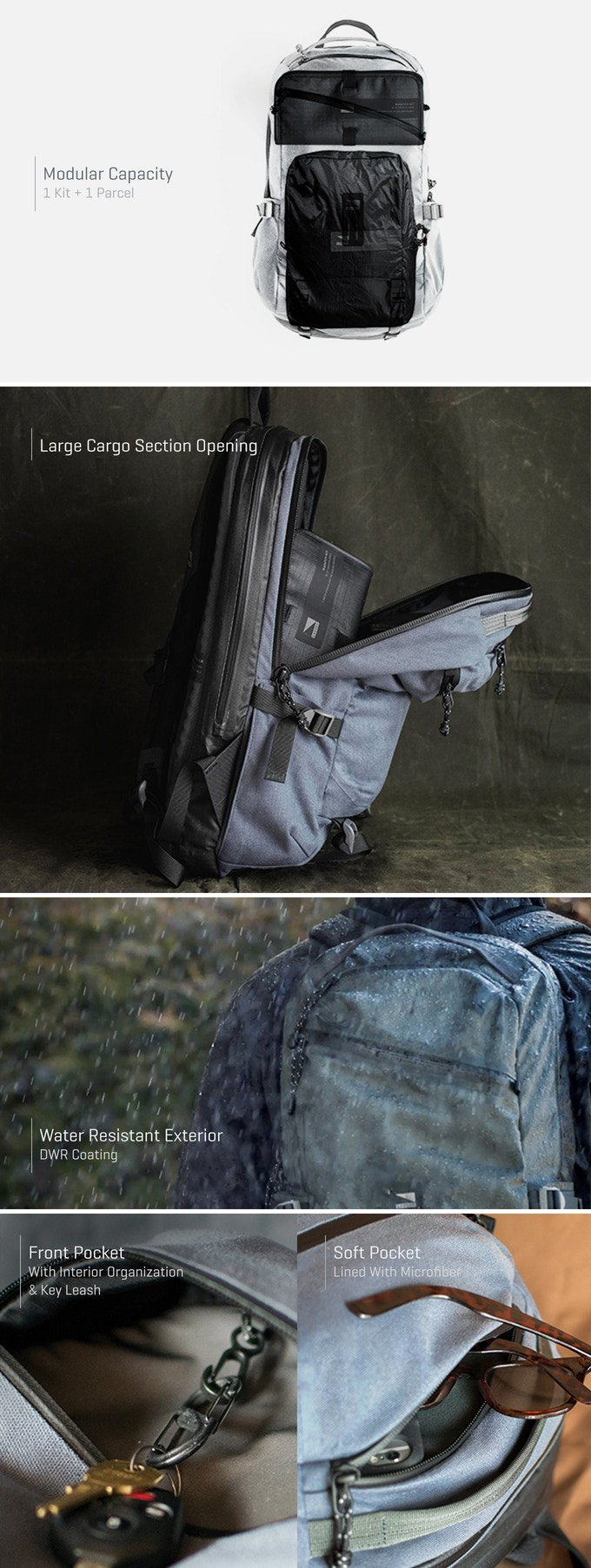 Lander Carry System Backpacks