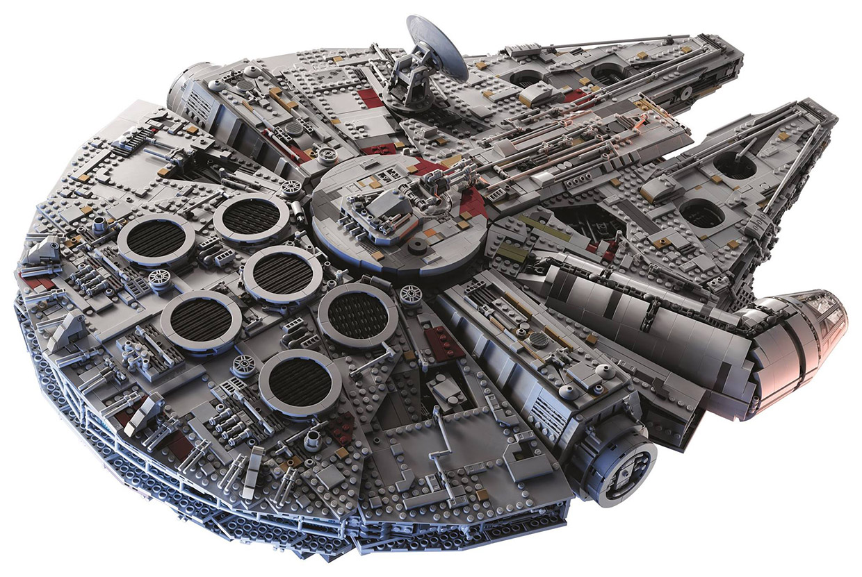 Lego Ucs Millennium Falcon 2017 Is The Largest Official
