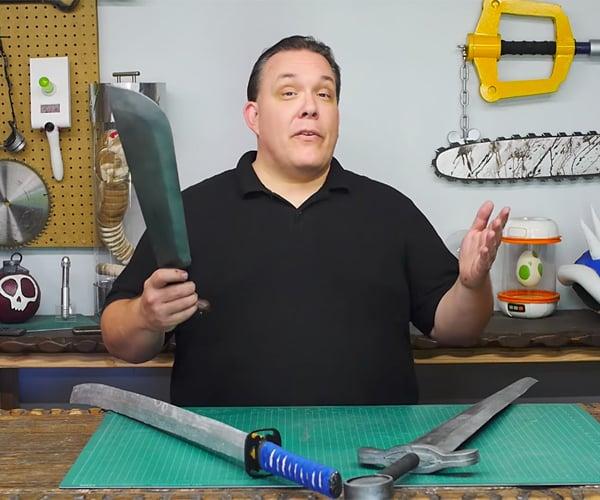 Making Stiff But Safe Foam Swords