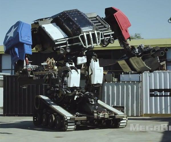 MegaBots Eagle Prime Giant Robot