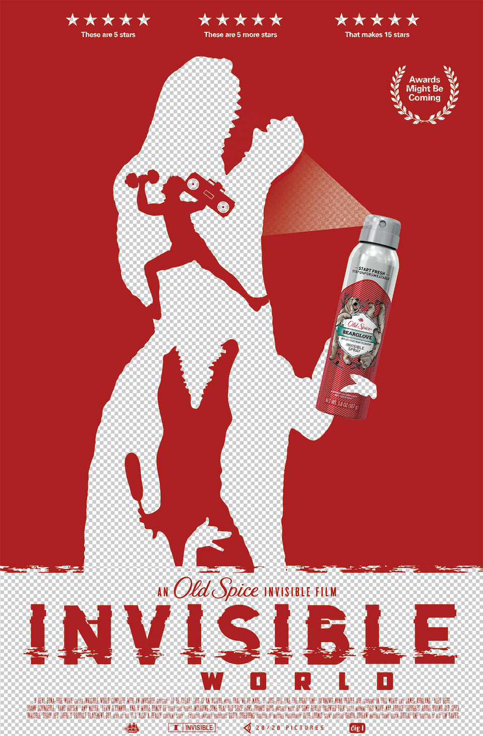 Old Spice: Invisible World