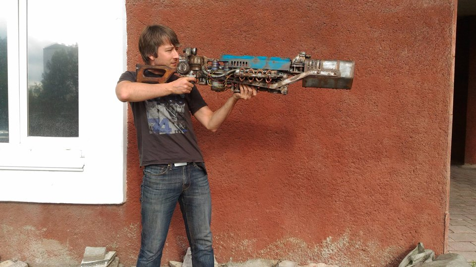 PlastCraft Fallout 4 Gauss Rifle