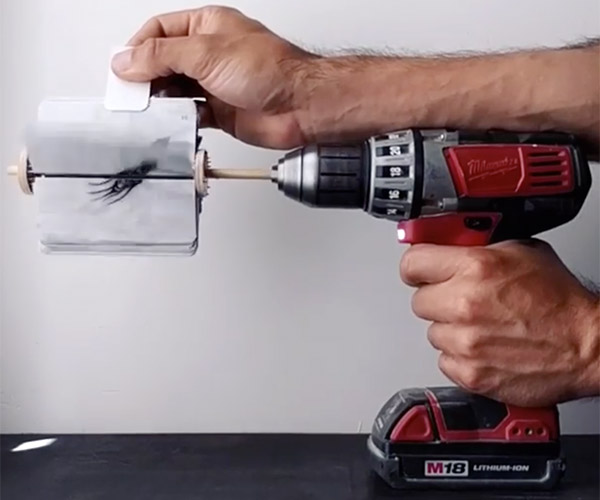 Power Drill Animation