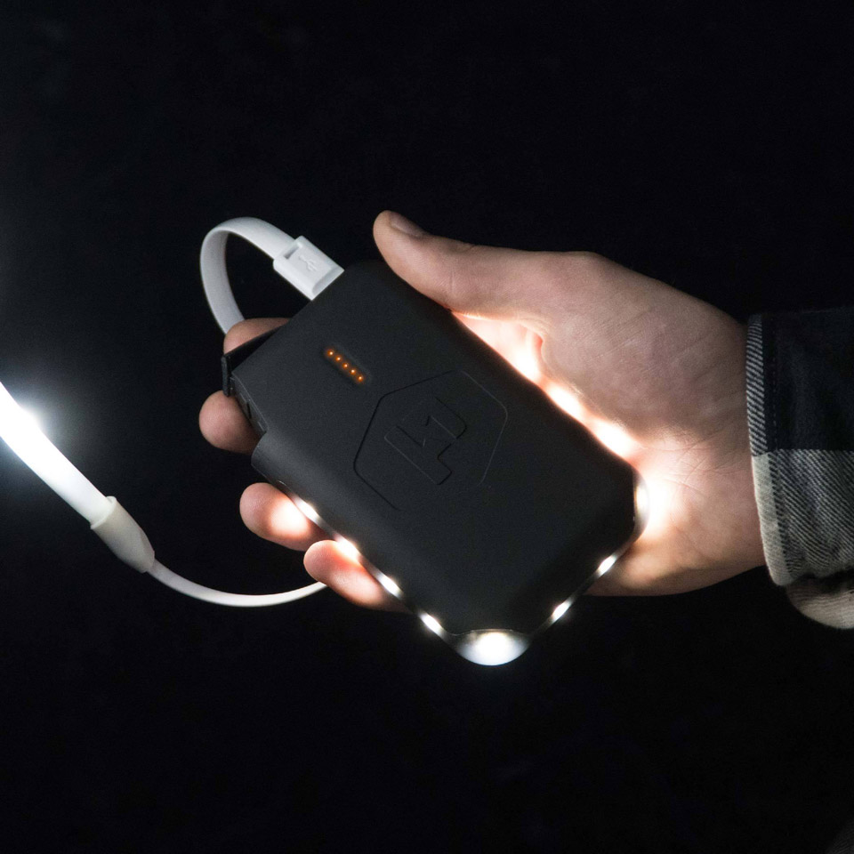 Pronto Power Bank & LED Light