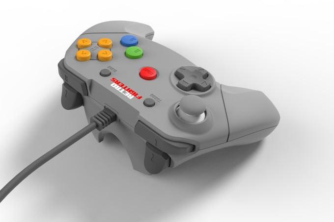 Retro Fighters Nintendo 64 Controller