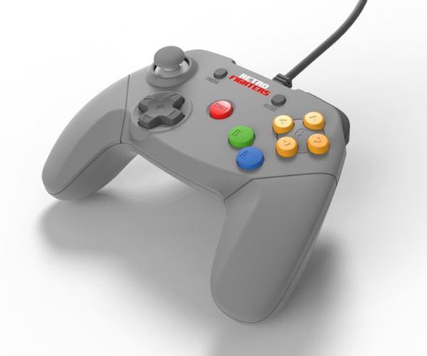 Retro Fighters Nintendo 64 Controller