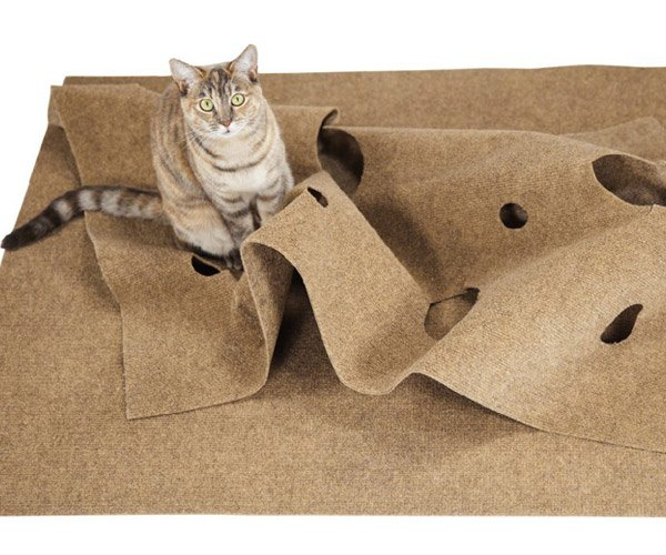Ripple Rug Cat Playmat