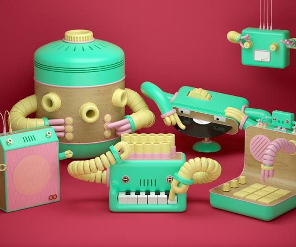 Robot & The Robots
