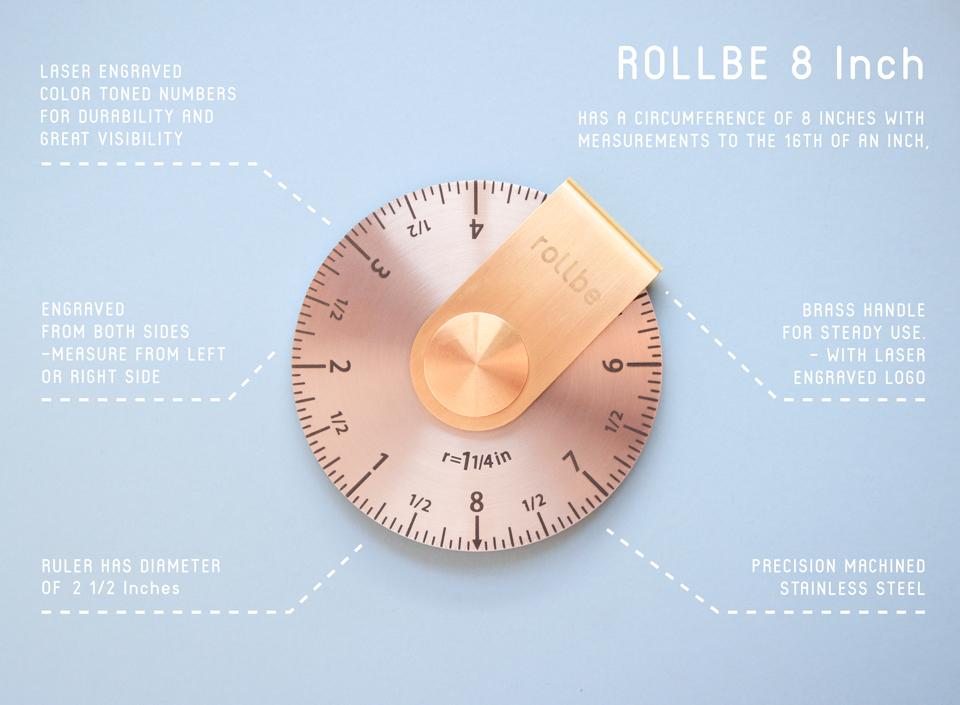 Rollbe Rolling Ruler