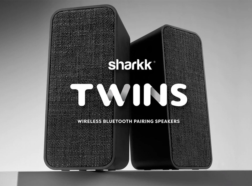 Deal: Sharkk Twins Bluetooth Speakers